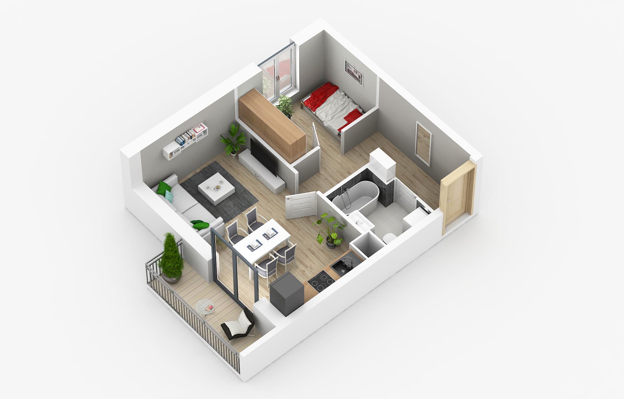 Mieszkania na sprzedaż Poznań - Osiedle Poznańskie